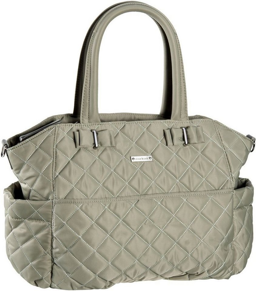 Storksak Bobby in Putty Light Grey