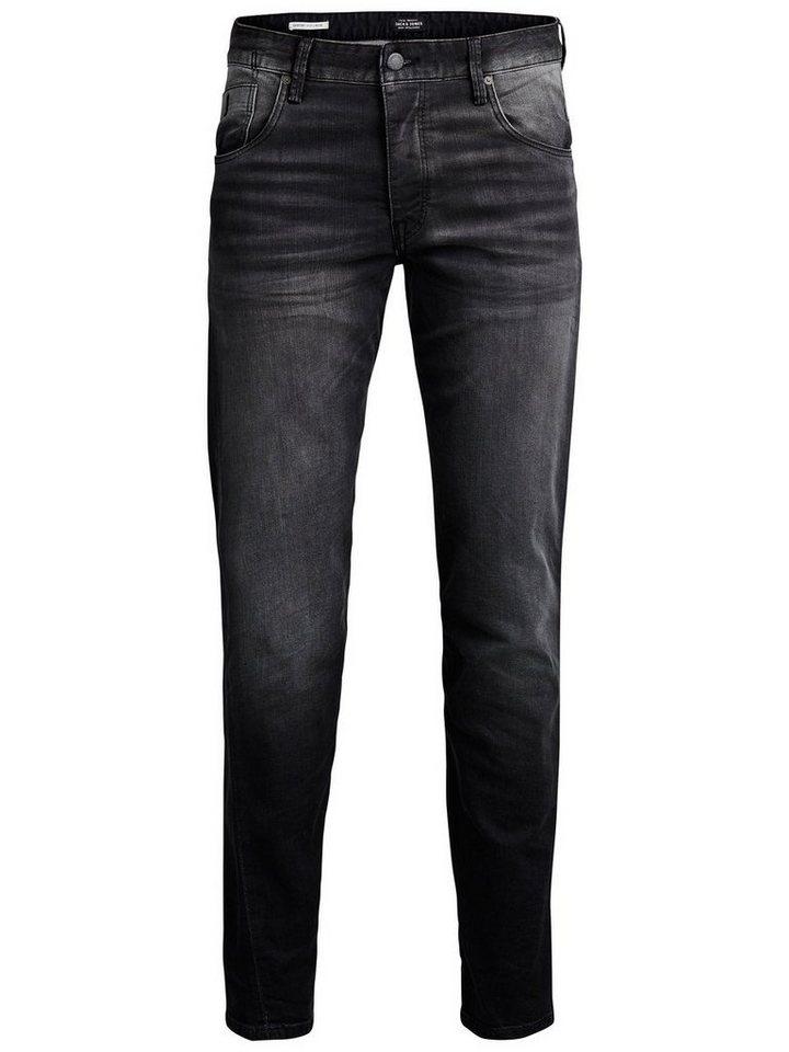 Jack & Jones Mike Iron JOS 314 Comfort Fit Jeans in Black Denim