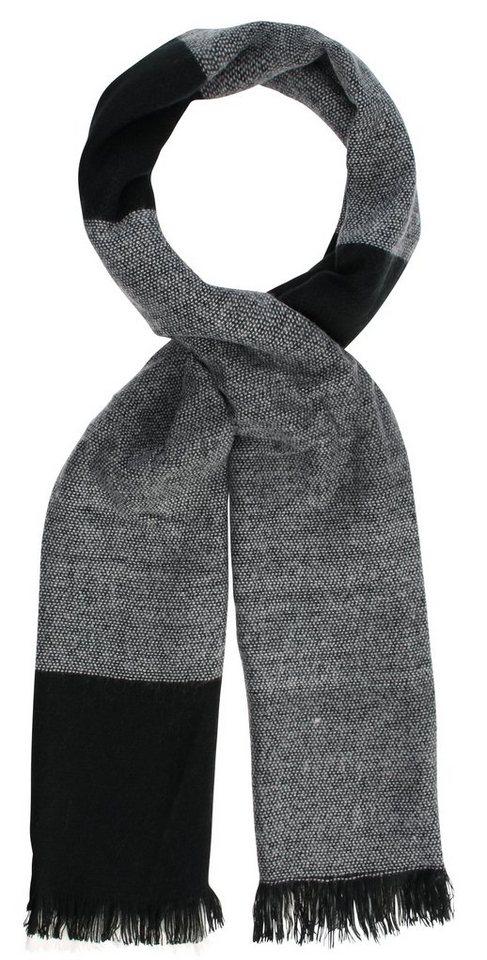 myMO Schal in schwarz/grau/white