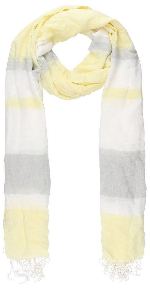 Highlight Company Schal in gelb