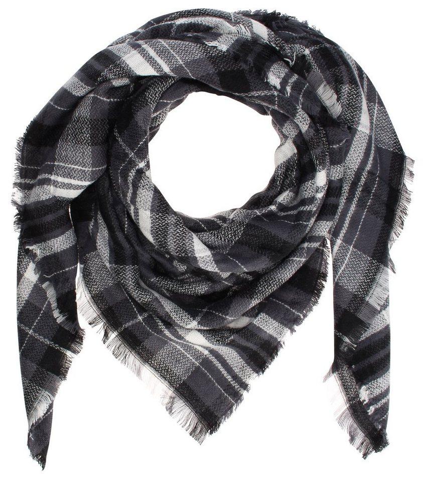 myMO Tuch in schwarz/grau