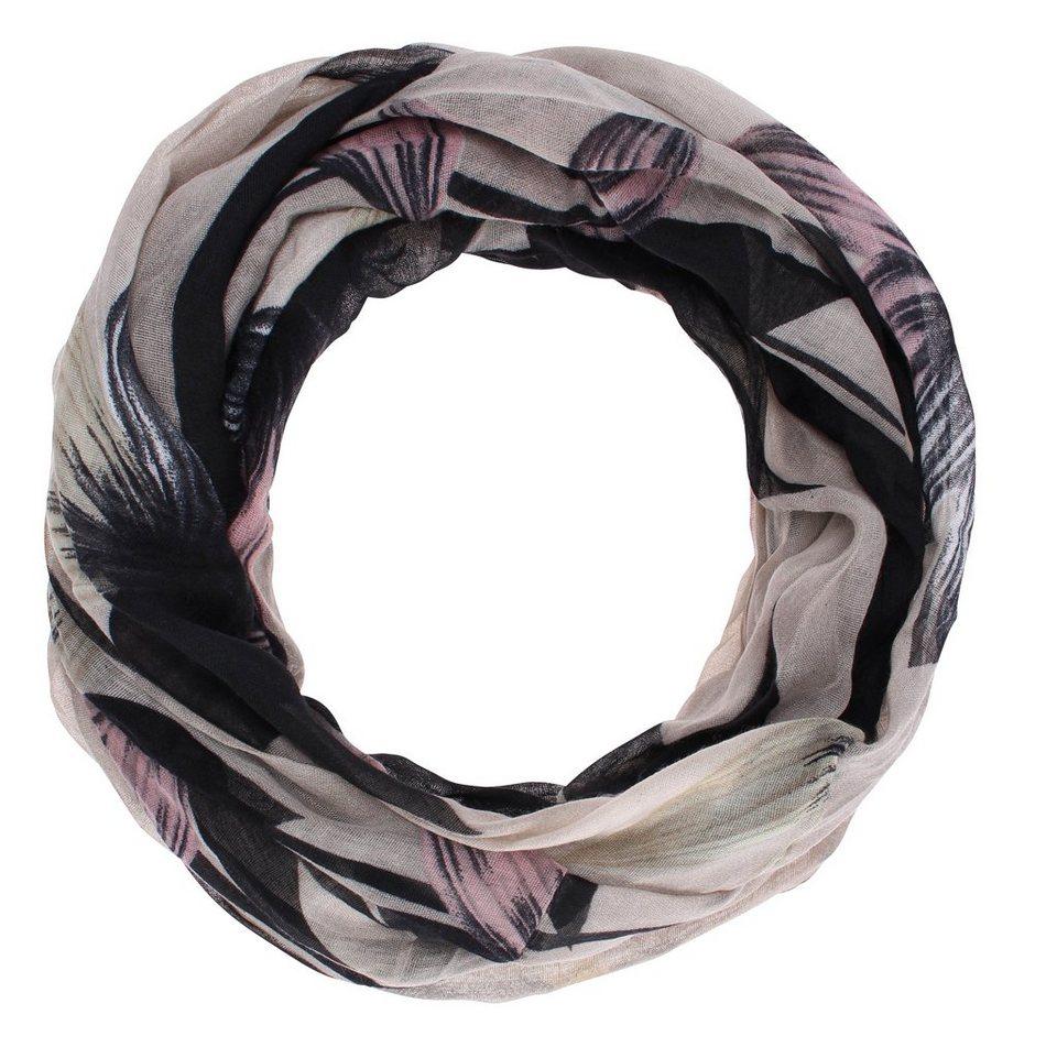 myMO Loop in beige/schwarz/pink