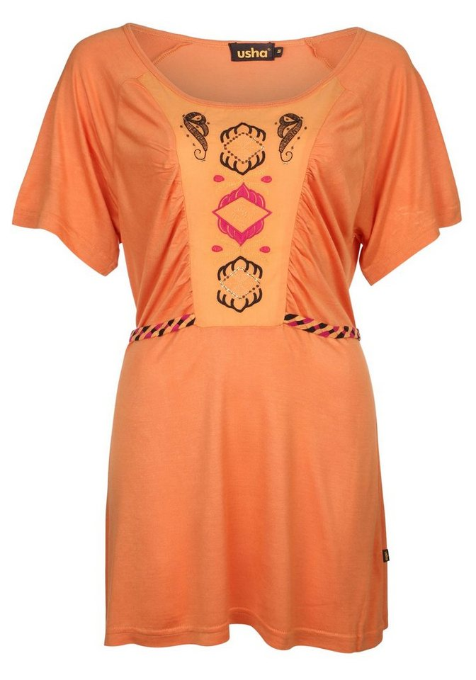 Usha Shirt in orange