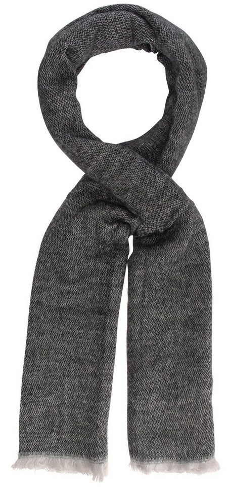 myMO Schal in schwarz/grau