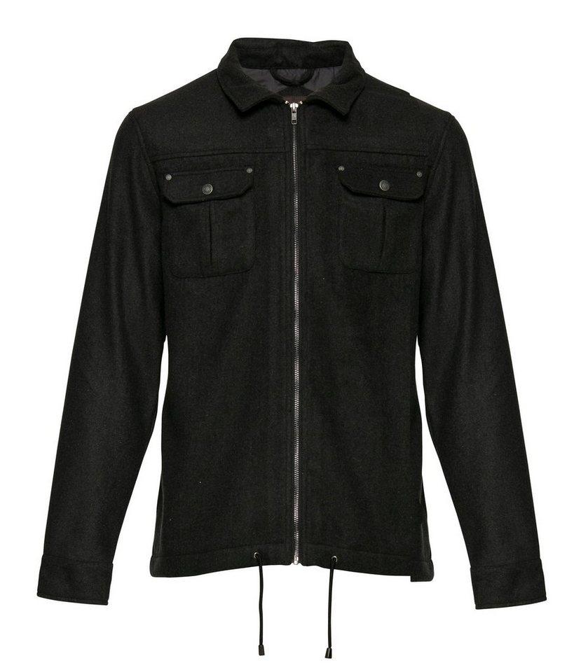 Casual Friday Hemden in Dunkel grau