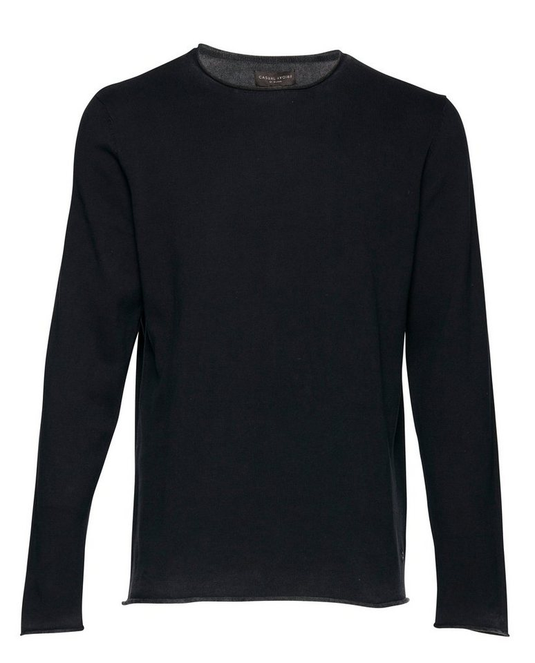 Casual Friday Pullover in Schwarz