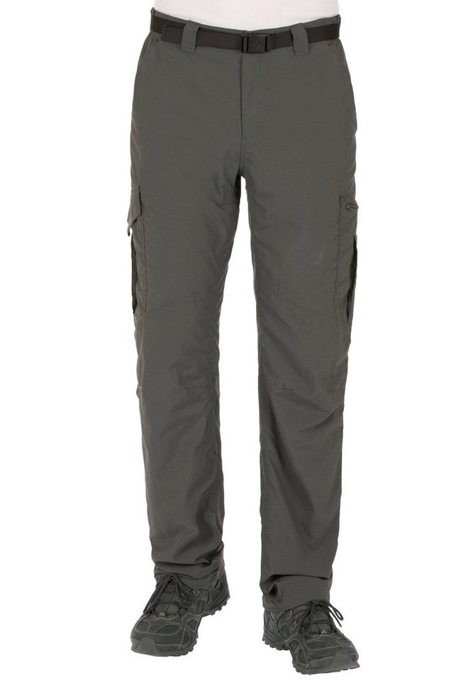 Columbia Outdoorhose »Silver Ridge Cargo Pant Men« in grau