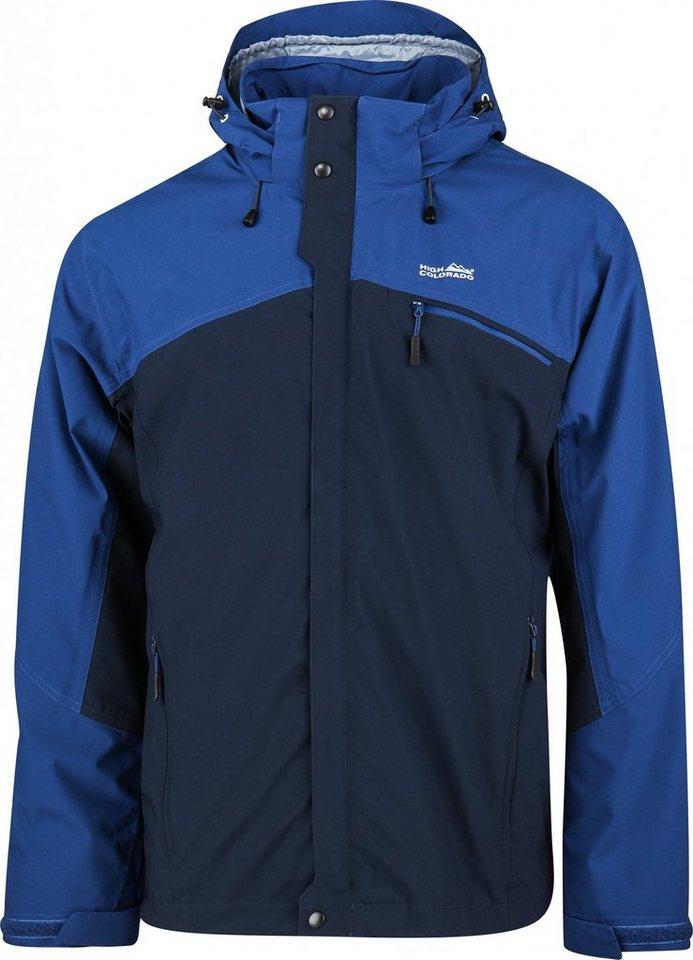 High Colorado Outdoorjacke »Halifax-M 2In1 Jacke Herren« in blau