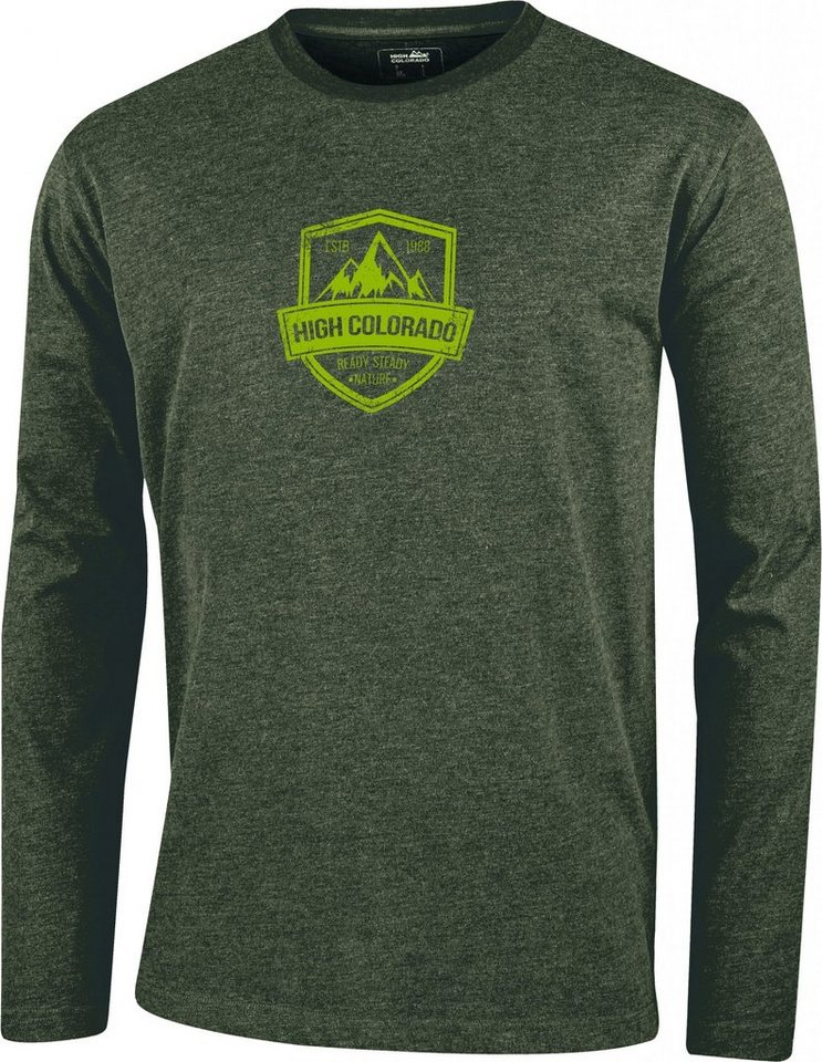 High Colorado Sweatshirt »Wallis 2 HC-M Logoshirt Herren« in oliv