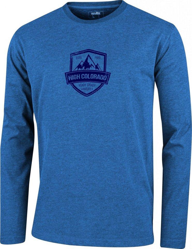 High Colorado Sweatshirt »Wallis 2 HC-M Logoshirt Herren« in blau