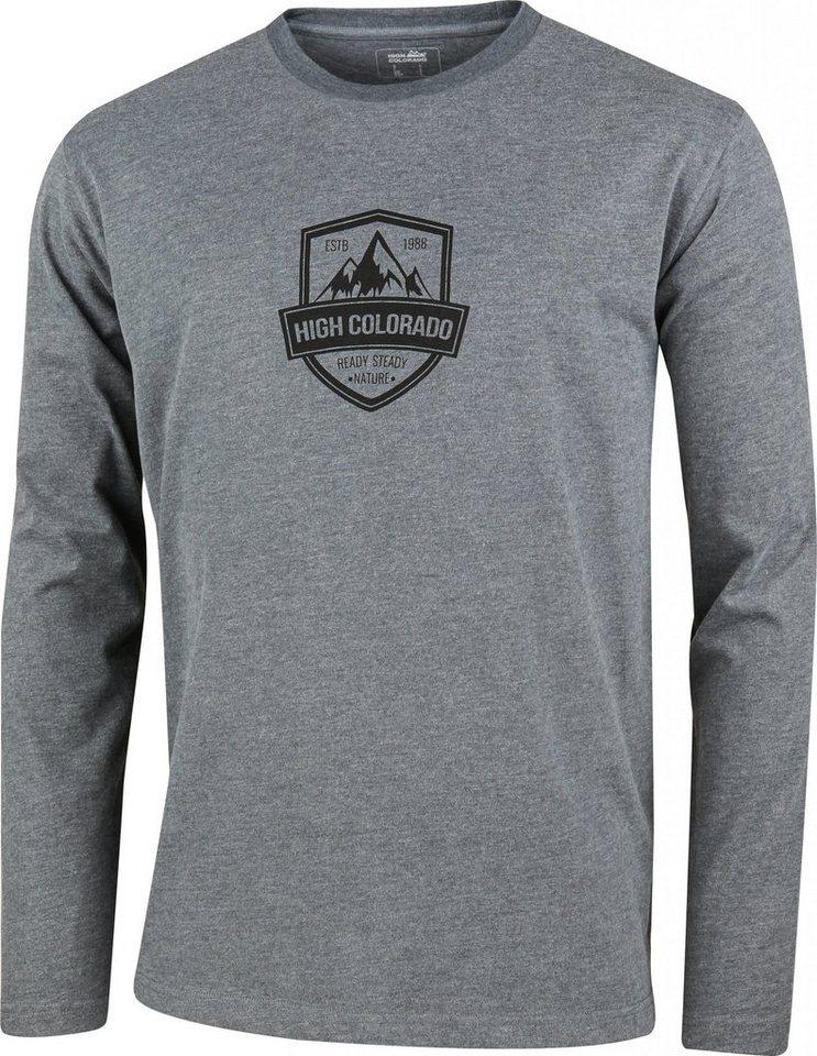 High Colorado Sweatshirt »Wallis 2 HC-M Logoshirt Herren« in grau