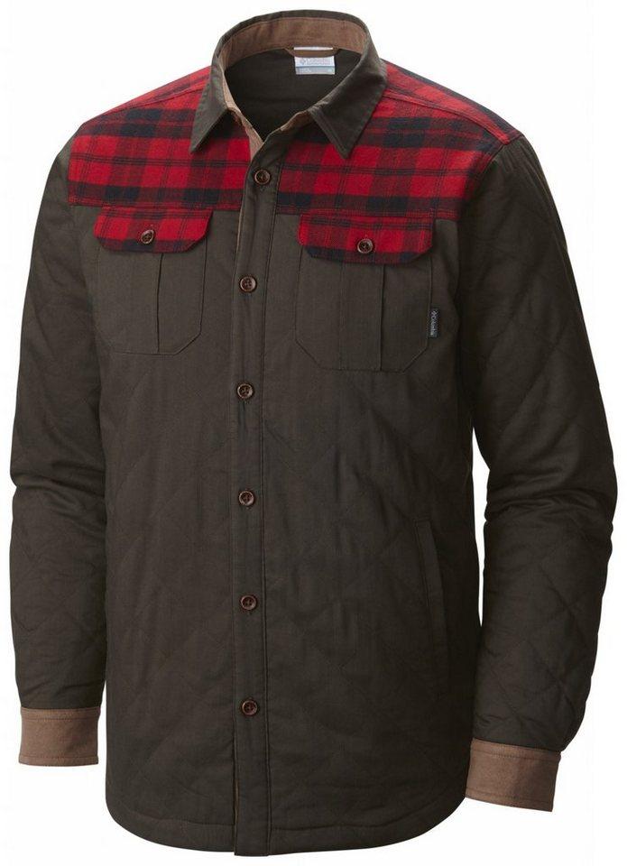 Columbia Hemd »Kline Falls Shirt Jacket Men« in oliv