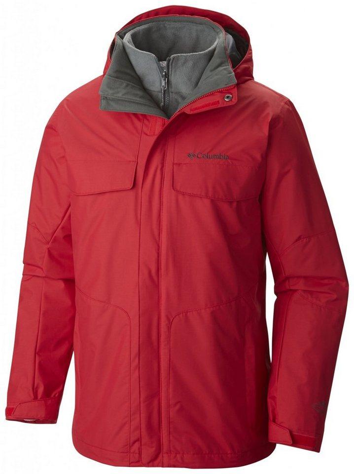 Columbia Outdoorjacke »Bugaboo Interchange Jacket Men« in rot