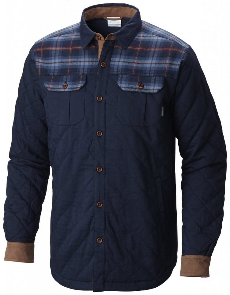 Columbia Hemd »Kline Falls Shirt Jacket Men« in blau