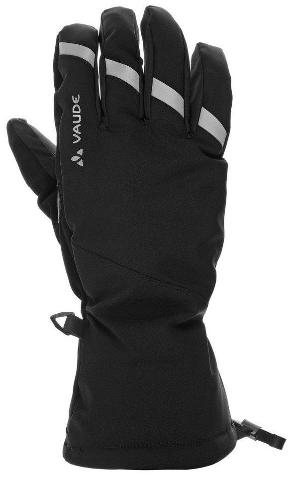 VAUDE Fahrrad Handschuhe »Tura II Gloves« in schwarz
