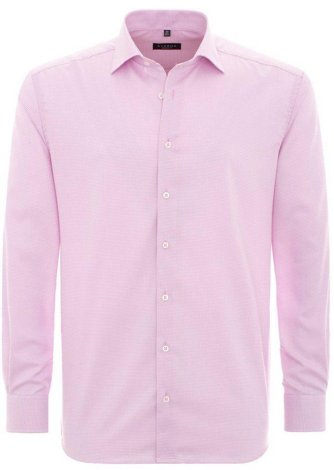 ETERNA Langarm Hemd »MODERN FIT« in rose