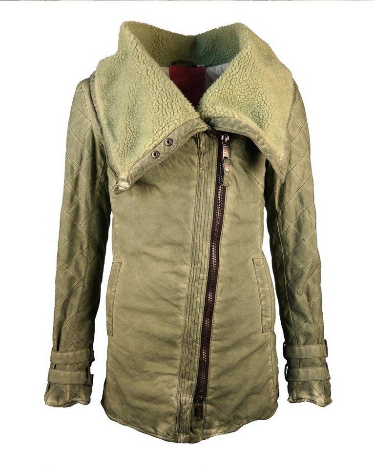 JCC Long-Jacke, Damen Marla in grün