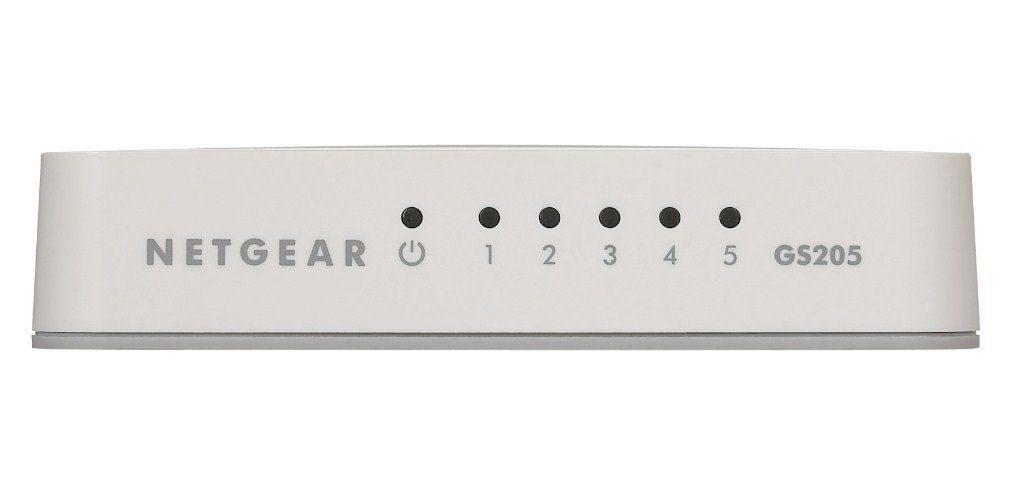 Netgear Switch »5-Port GB Switch Consumer Weiß«
