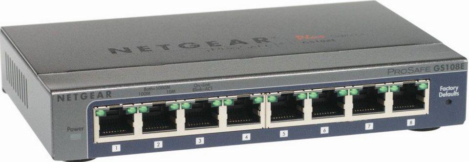 Netgear Switch »8-Port GB Plus Switch«