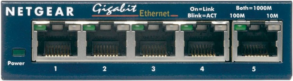 Netgear Switch »5-Port GB Switch, Desktop«
