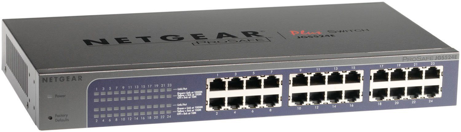 Netgear Switch »24-Port GB PoE PLUS Switch DT«