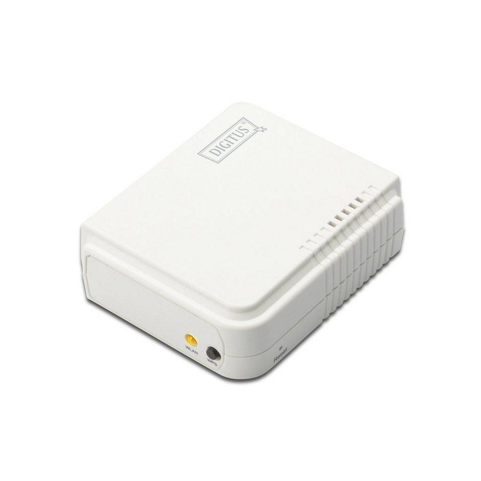 Digitus Printserver Hardware »Wireless LAN Print Server, USB 2.0«