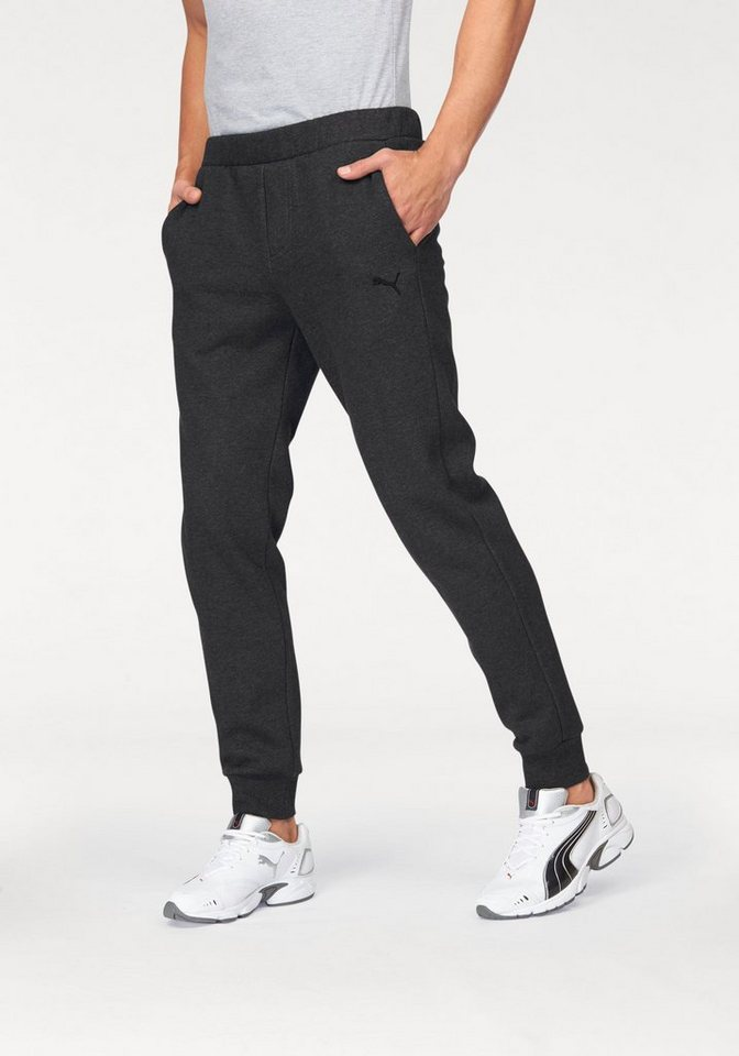 PUMA Jogginghose »ESS SWEAT PANTS FLEECE« in anthrazit