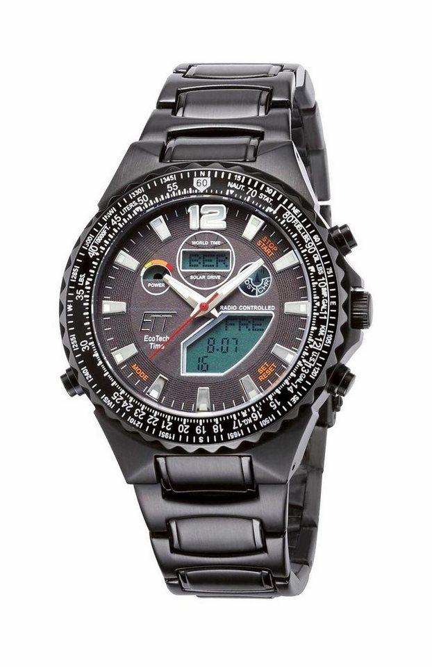 ETT Funkchronograph »EGS-11319-21M« in schwarz