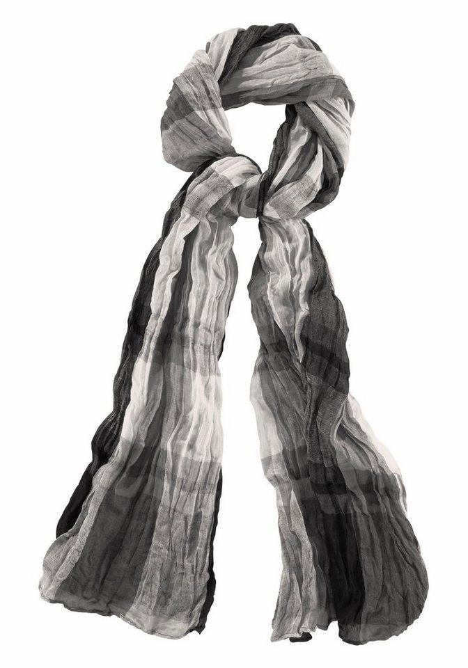 J. Jayz Modeschal in Crinkle-Optik in grau