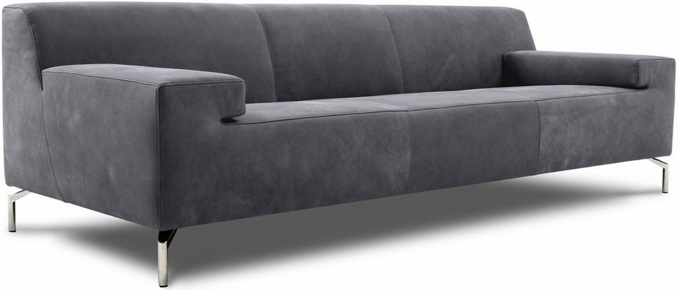 pure. by machalke 2,5-Sitzer Sofa »Caballero« in elephant