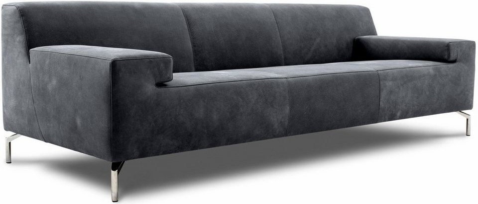 pure. by machalke 3-Sitzer Sofa »Caballero« in elephant