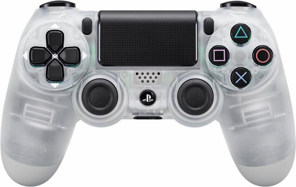 PS4 Dualshock 4 Wireless Controller in crystal