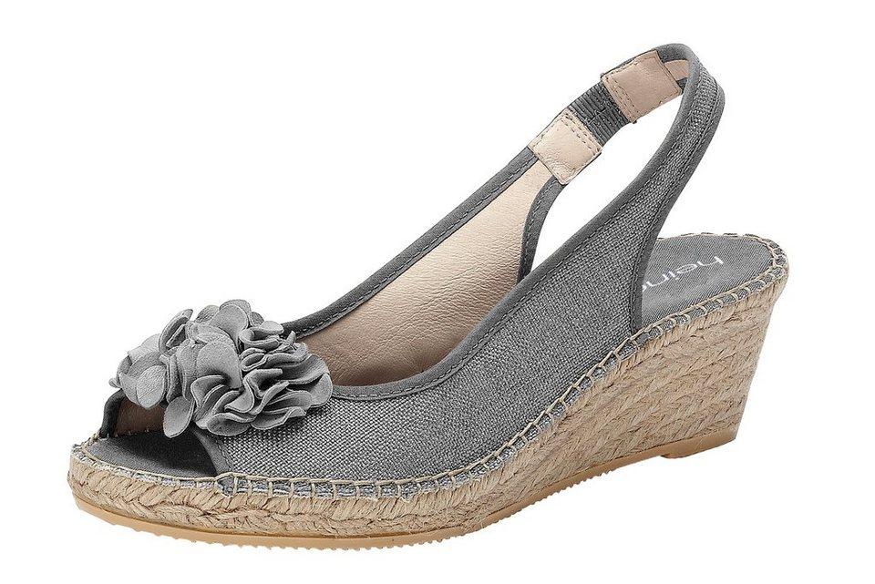 Sandalette in grau