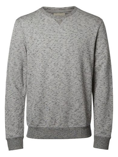Selected O-Ausschnitt- Sweatshirt
