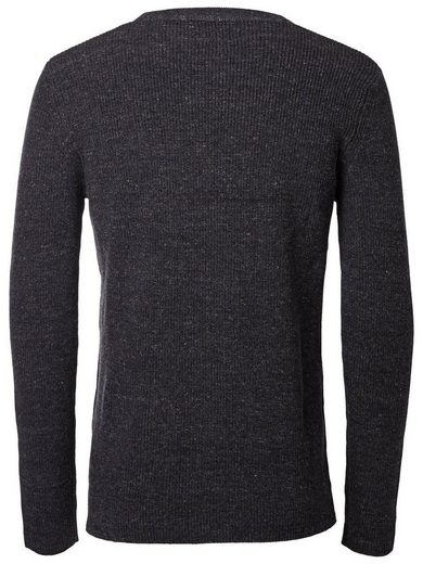 Selected Crew-Neck- Strickpullover