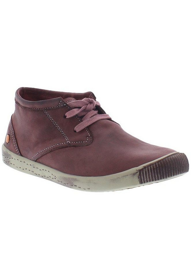 softinos Sneaker high »Indira washed leather HW16« in purple