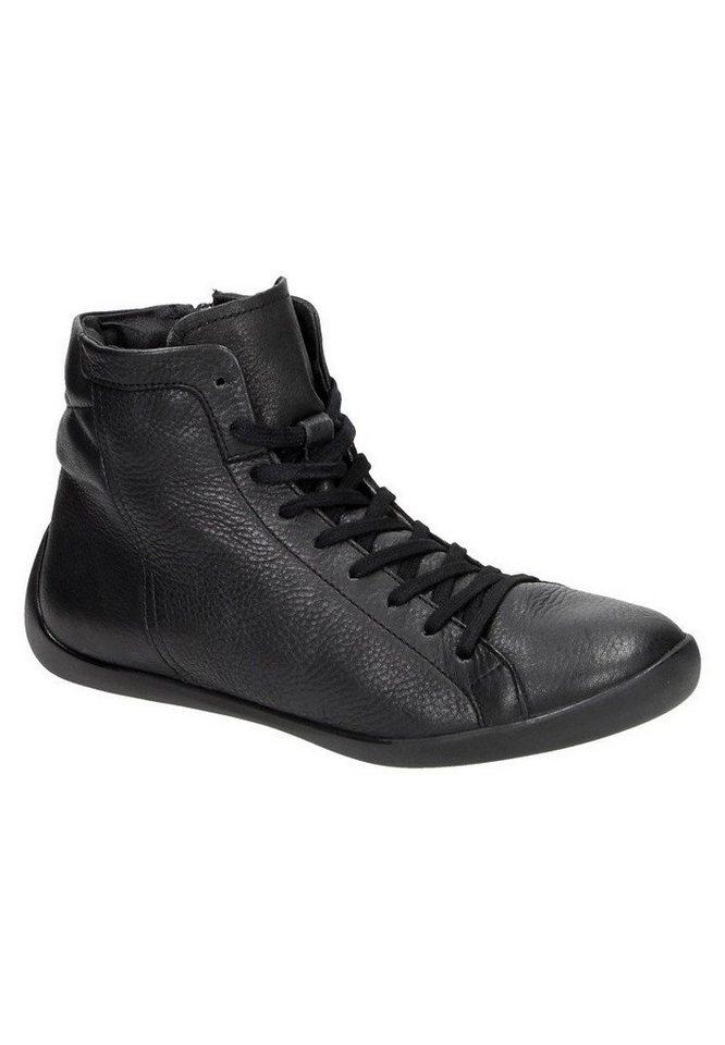 softinos klassische Stiefelette »NITA323SOF smooth leather« in schwarz