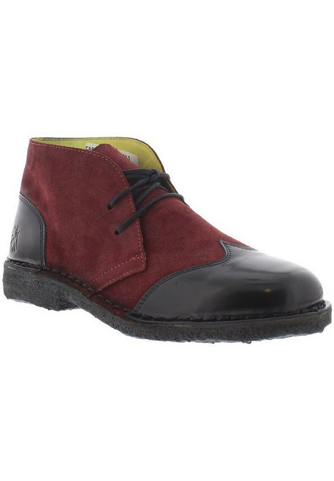 FLY LONDON Boots »CAPI917FLY pollux oil suede« in rot