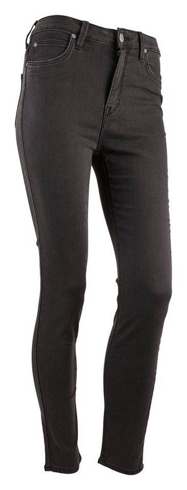Lee Jeans »SKYLER HIGHWAIST« in Schwarz