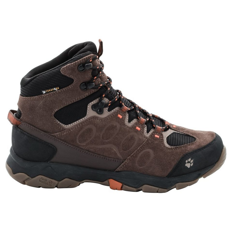 Jack Wolfskin Wanderschuh »MTN ATTACK 5 TEXAPORE MID M« in earth orange