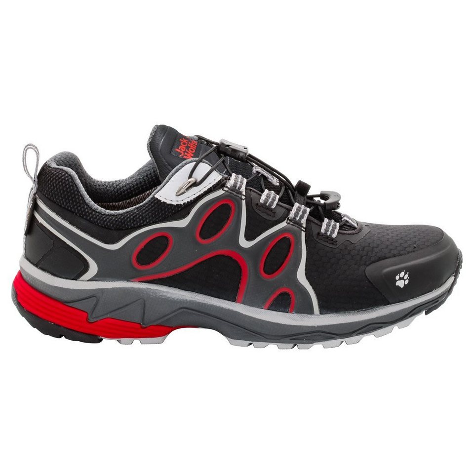 Jack Wolfskin Trailrunningschuh »PASSION TRAIL TEXAPORE LOW W« in red fire