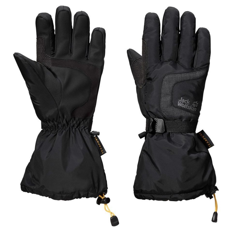 Jack Wolfskin Fingerhandschuhe »TEXAPORE WINTER GLOVE« in black