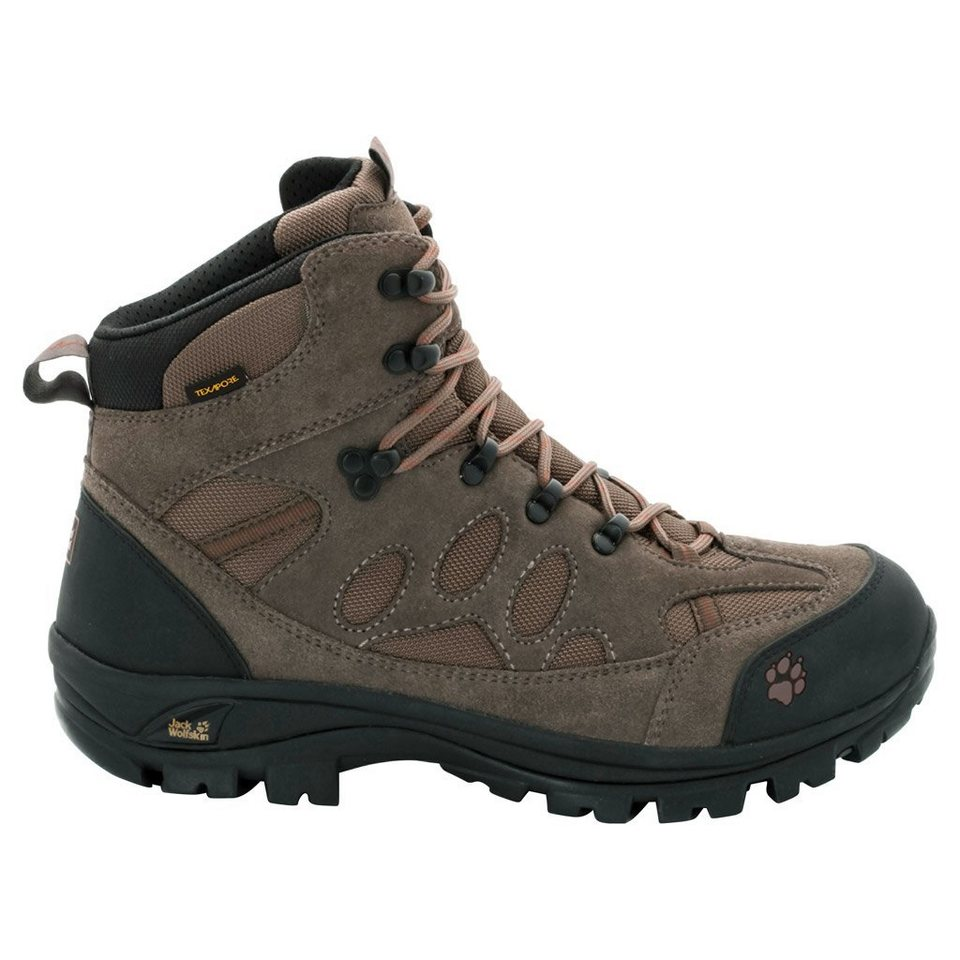 Jack Wolfskin Trekkingschuh »ALL TERRAIN 7 TEXAPORE MID M« in earth orange