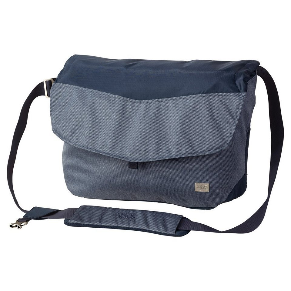 Jack Wolfskin Kuriertasche »WOOL TECH MESSENGER« in dark sky