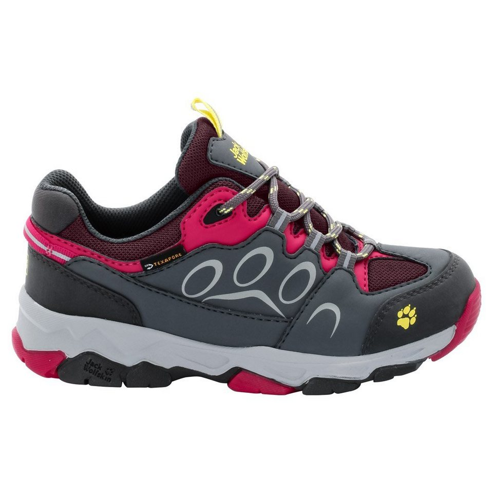Jack Wolfskin Wanderhalbschuh »MTN ATTACK 2 TEXAPORE LOW K« in azalea red