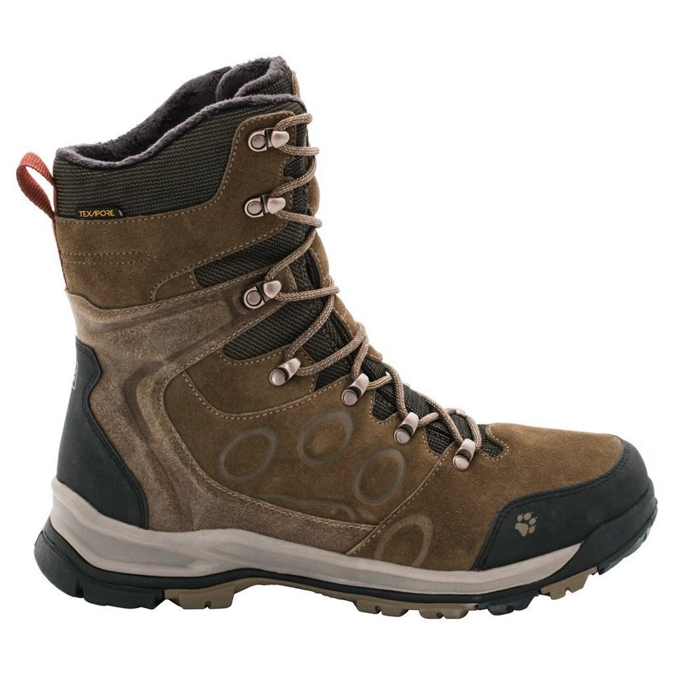 Jack Wolfskin Winterstiefel »GLACIER BAY TEXAPORE HIGH M« in earth brown