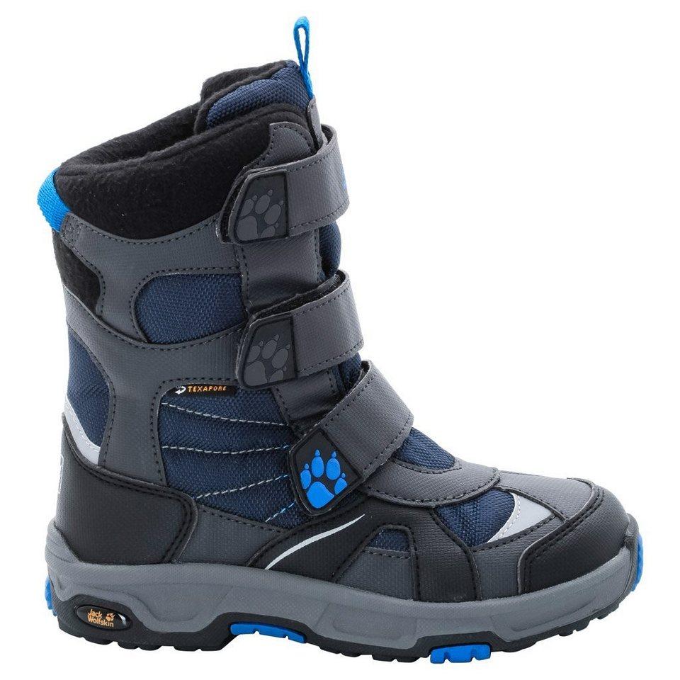 Jack Wolfskin Winterstiefel »BOYS SNOW DIVER TEXAPORE« in night blue