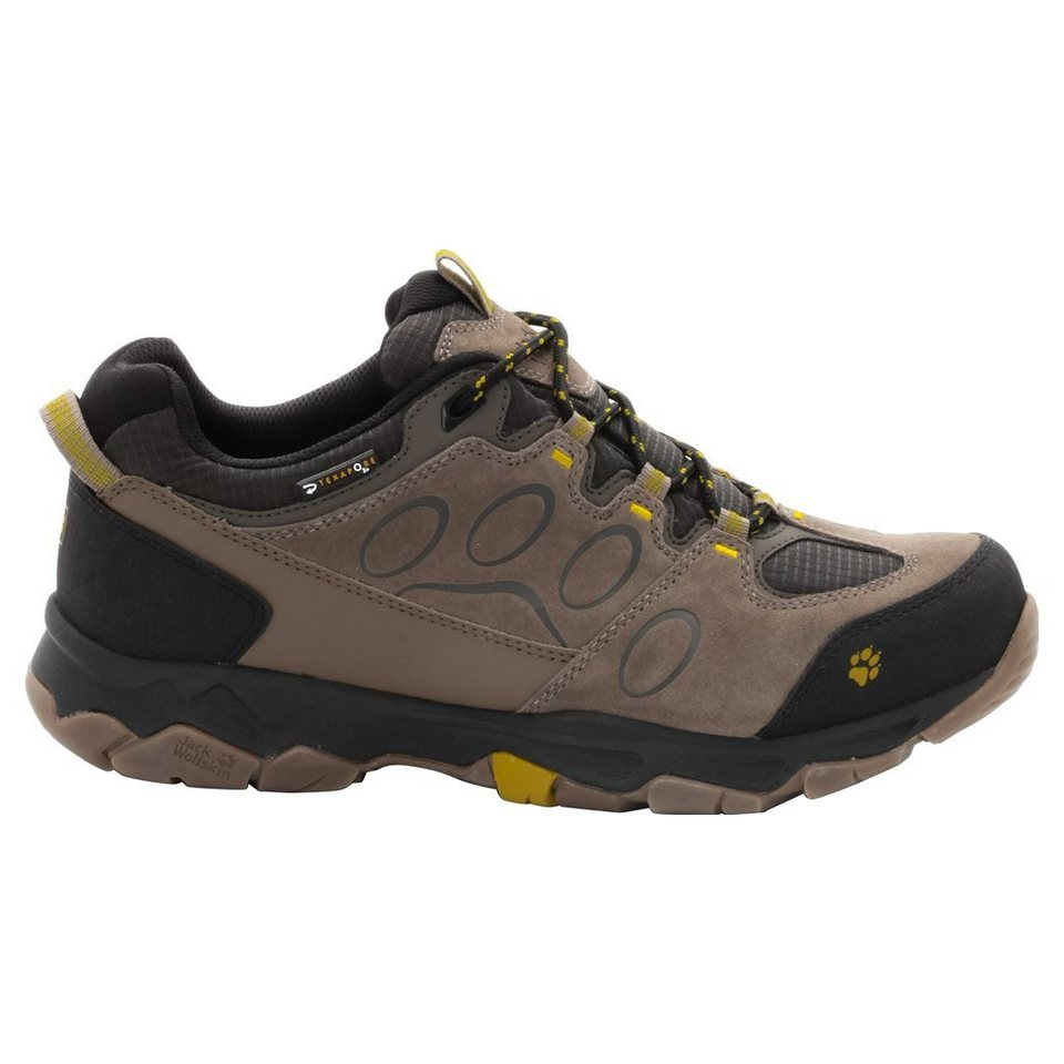 Jack Wolfskin Wanderschuh »MTN ATTACK 5 TEXAPORE LOW M« in mustard seed