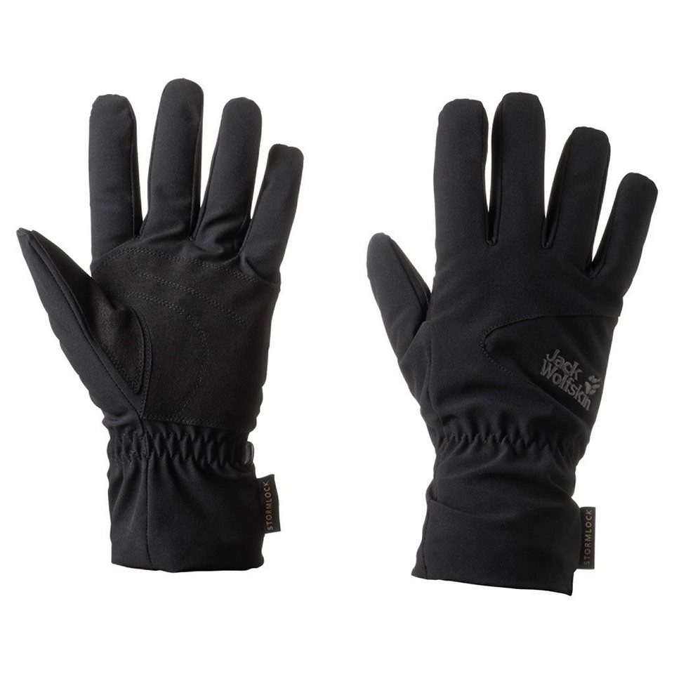 Jack Wolfskin Fingerhandschuhe »STORMLOCK HIGHLOFT GLOVE« in black