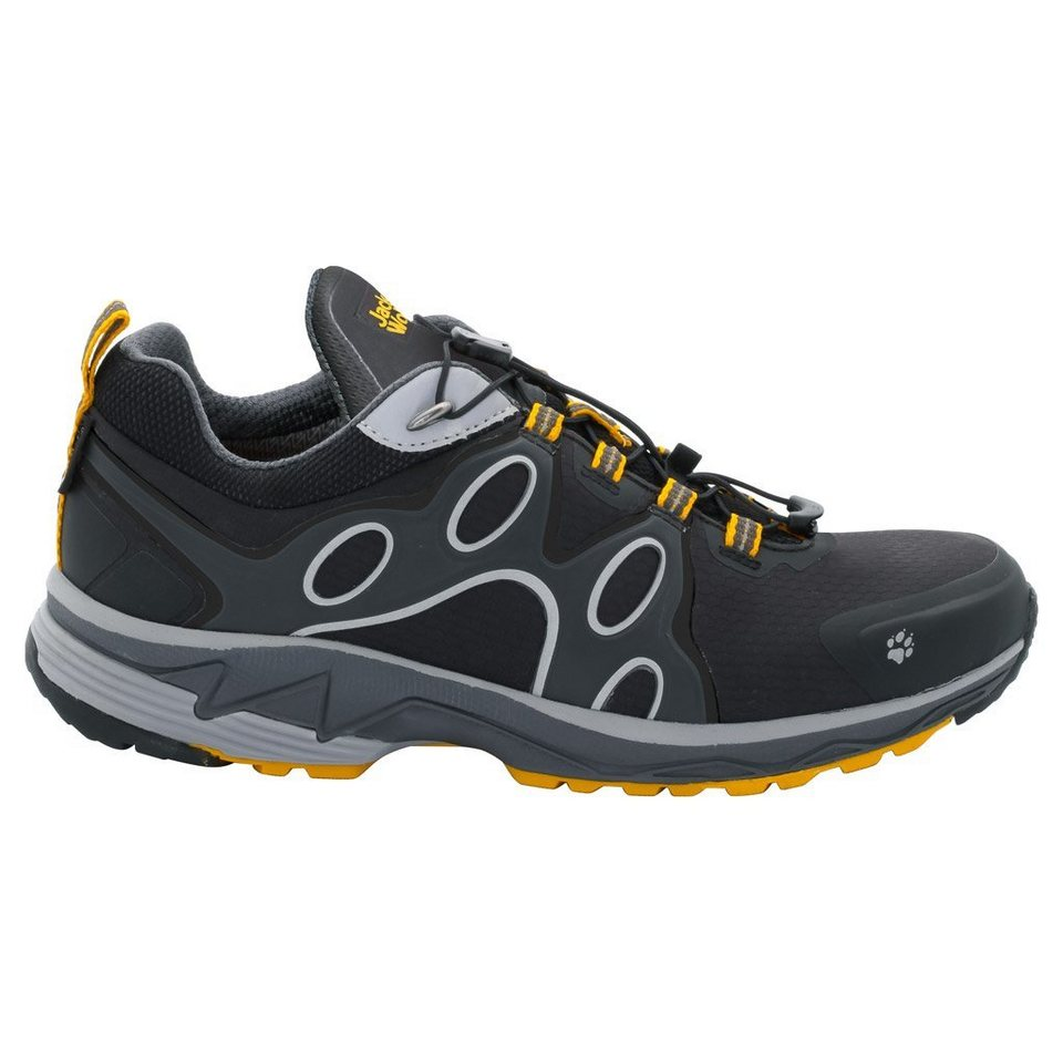 Jack Wolfskin Trailrunningschuh »PASSION TRAIL TEXAPORE LOW M« in burly yellow XT